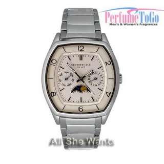 NEW Kenneth Cole Watch * KC3626 * Hidden Scratches * Moon Phase