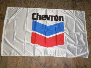 Official Chevron Gasoline Oil Flag 3 x 5 New