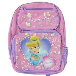 Disney Princess Cinderella Backpack  Full size School bag