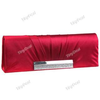 Purse Handbag for Party + Wedding Red Champagne Black NBG 70584