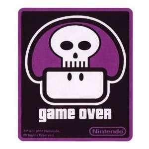 Nintendo Super Mario Sticker Game Over Mushroom Toys