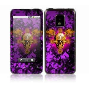 Gothika Skull Design Decorative Skin Cover Decal Sticker