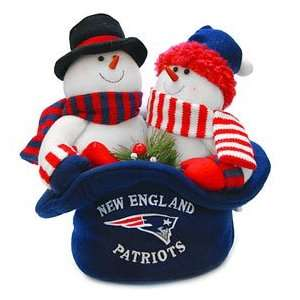 New England Patriots NFL Snowmen Top Hat