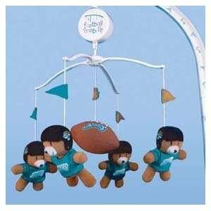 Jaguars Baby Crib Team Mascot Mobile NFL Football