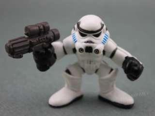 Lot 17 Pcs Star Wars Galactic Heroes Clone Trooper Yoda Wicket Figures