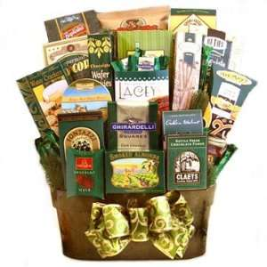 Impressions Gourmet Snack Food Basket   Great Mothers Day Gift Idea