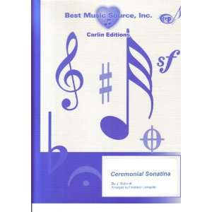 Schmitt Ceremonial Sonatina Easy Full Orchestra