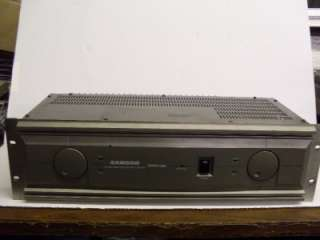 Samson Servo 500 Stereo Studio Power Amplifier Amp
