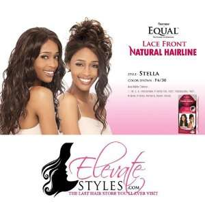 FreeTress Equal Natural Hair Line Stella Color 1B Synthetic Lace Front