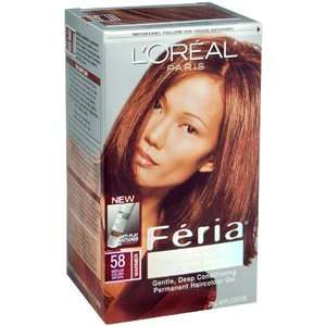 LOREAL FERIA 58 BRONZ SHIMMER 1EA LOREAL HAIR CARE