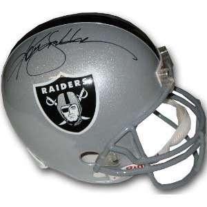 Ken Stabler Signed Raiders Full Size Replica Helmet