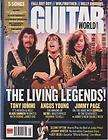 Guitar World 2007 May Tony Iommi Angus Jummy