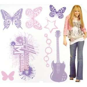 Disneys Hannah Montana Decals   21 Girls Room Wall