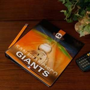 MLB San Francisco Giants Team Logo 1 3 Ring Binder