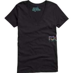 Fox Racing Head Start Vneck Girls Short Sleeve Sports Wear T Shirt/Tee