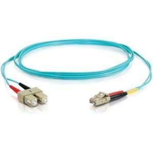 Cables To Go 21627 10 GB LC/SC Duplex 50/125 Multimode Fiber Patch