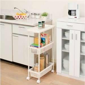 Laundry Cart Slim Kitchen Cart Kitchen Storage Cart MKW 3S