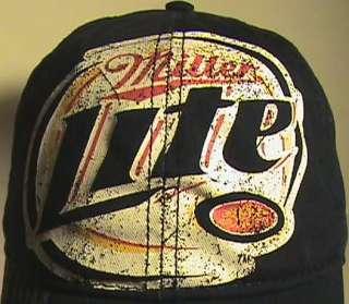 New Miller Lite Brewing Beer Bar Pub Bottle Opener Blue Baseball Hat