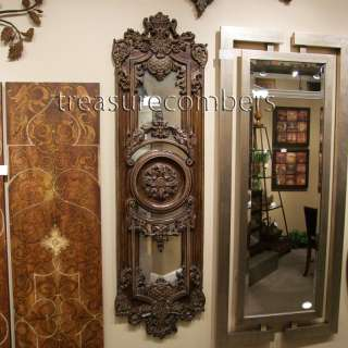 Domenica Large Ornate Antiqued Wall Mirror XL Horchow