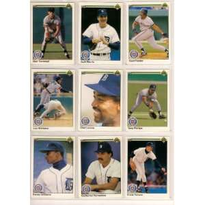 Set (Kirk Gibson) (Jack Morris) (Alam Trammell): Sports & Outdoors