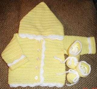 New Hand Crocheted BABY AFGHAN   BLOCK PATTERN blanket   you choose