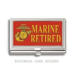 Marines Retired Business Card Holder Case: Everything Else