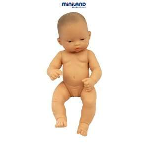 NEWBORN BABY DOLL ASIAN GIRL: Office Products
