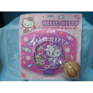 Hello Kitty Mini Hoop & Ball Set Toys & Games