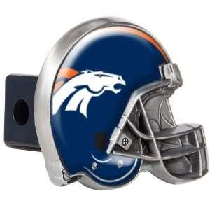 Denver Broncos NFL Metal Helmet Trailer Hitch Cover