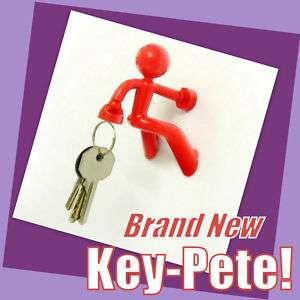 RED Key Pete Strong Man MAGNETIC Key Holder Rack HANGER