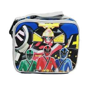 NWT Power Rangers Samurai Lunch Box Insulated (100% Authentic)