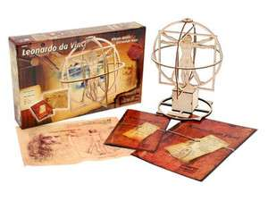 Revell Model Kit   Leonardo da Vinci Vitruvian Man 0509