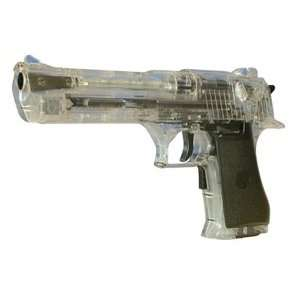 Electric Softair Desert Eagle Pistol Clear FPS 200 Airsoft Gun