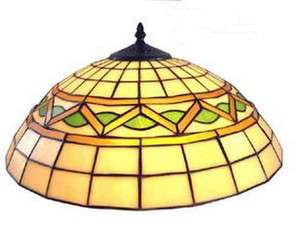 LEADED STAINED GLASS 18 LAMP SHADE*NIB*
