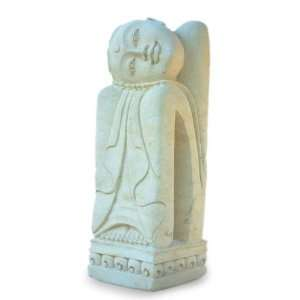 Sandstone sculpture, Lonely Girl Home & Garden