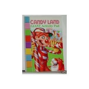 Candy Land Giant Coloring and Activity Pad Book   224