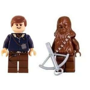 Han Solo & Chewbacca   LEGO Star Wars Figures Toys