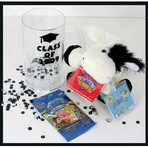 Graduation Gift Webkinz Lil Kinz Cow Trading Card 2009 Mug