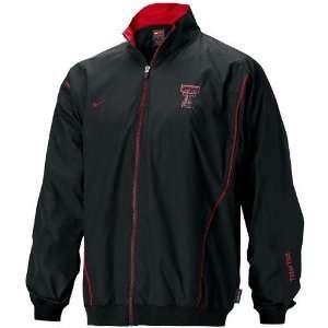 Nike Texas Tech Red Raiders Black Midfield Jacket Sports
