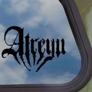 Atreyu Black Decal Punk Rock Band Car Truck Window Sticker