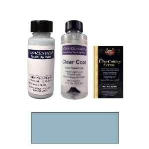 2 Oz. Star Dust Blue Metallic Paint Bottle Kit for 1980 Mazda