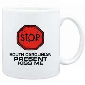 Mug White  STOP  South Carolinian START KISSING  Usa