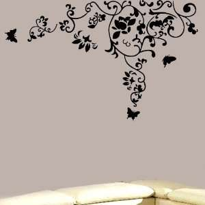Lily removable Vinyl Mural Art Wall Sticker Decal