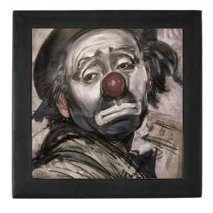 The Sad Clown Funny Keepsake Box by CafePress: Baby