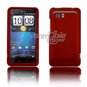 VMG HTC Vivid Hard Case Cover 2 ITEM COMBO Dark Red Hard 2
