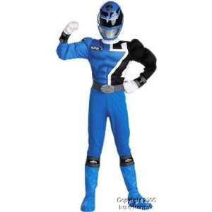 SPD Blue Ranger Muscle Costume (Size Medium 7 8) Toys & Games