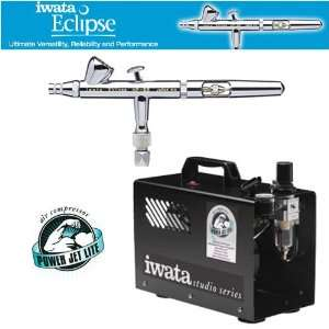 IWATA ECLIPSE HP BS AIRBRUSHING SYSTEM WITH POWER JET PRO