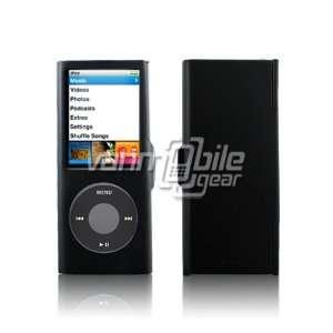 VMG Black Aluminum Metal Protective Case Cover for Apple iPod Nano 4