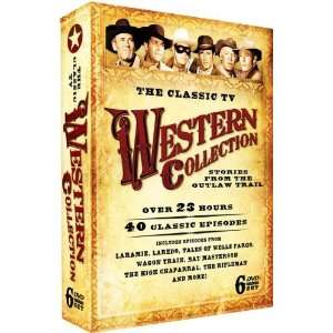 Classic TV Western Collection   EMBOSSED COLLECTORS TIN!: Classic TV