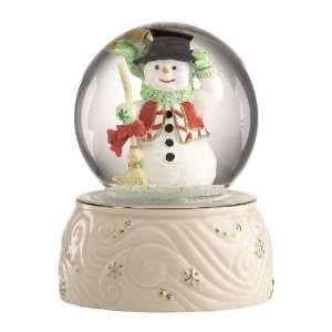 Lenox Christmas Snow Globes Snowman